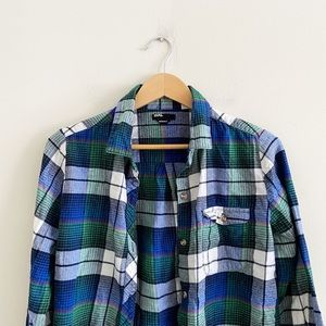 BDG boyfriend fit flannel from Urban Outfitters